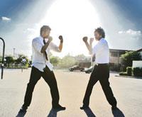 Fist Fight: Priest Vs. Jehovah's Witness